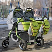Продам коляску для двойни,  погодок. Срочно